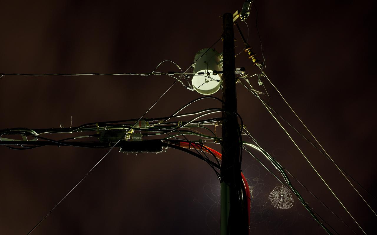 Light Pollution � 2012 James Sinks