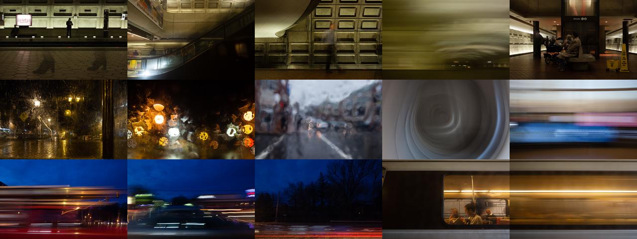 Commute © 2015 James Sinks
