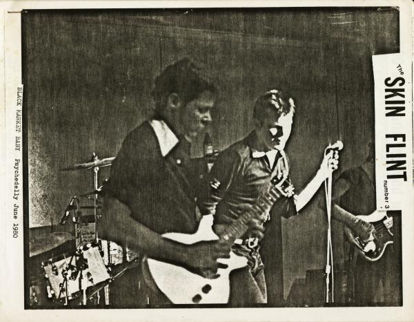 black market baby at the psychedelly, june 1980