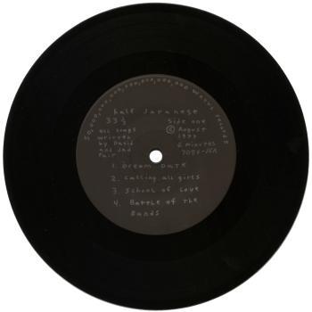 half japanese black vinyl