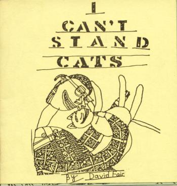 i can't stand cats cover