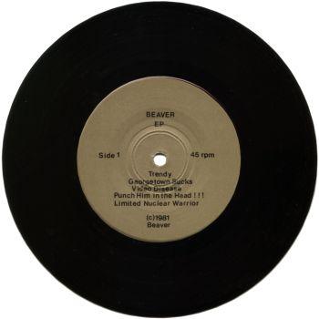 beaver black vinyl