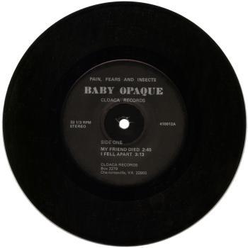baby opaque black vinyl