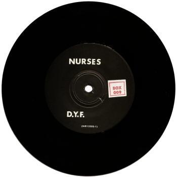 nurses black vinyl