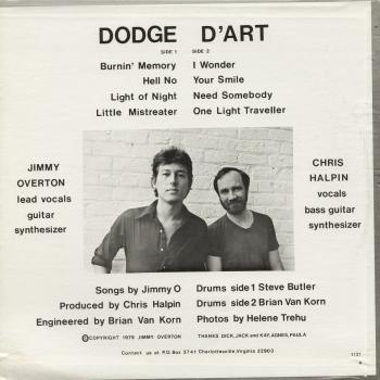 dodge d'art back cover