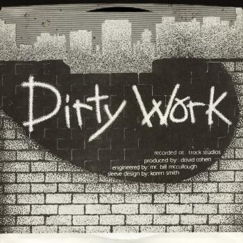 dirty work front cover