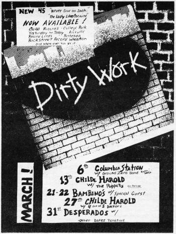 dirty work ad