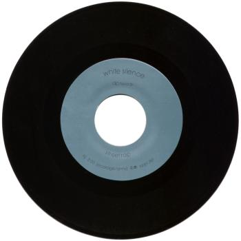 white silence black vinyl