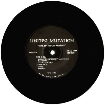 united mutation black vinyl