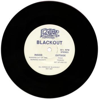 blackout black vinyl