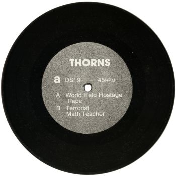 thorns black vinyl