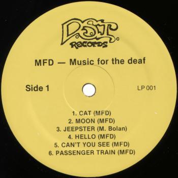 mfd black vinyl