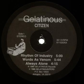 gelatinous citizen black vinyl