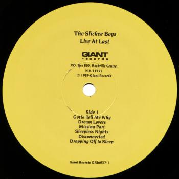 slickee boys black vinyl