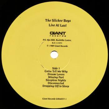 slickee boys black vinyl