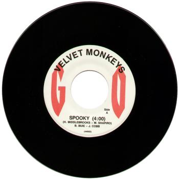 velvet monkeys black vinyl