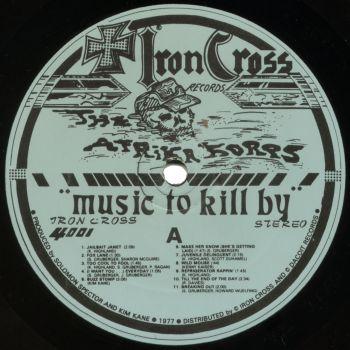 afrika korps black vinyl