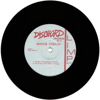 minor threat black vinyl
