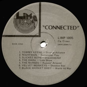 connected label