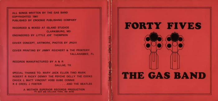 gas band gatefold front