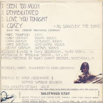hollywood east back cover