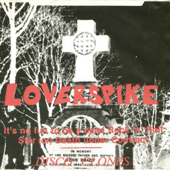 loverspike front cover