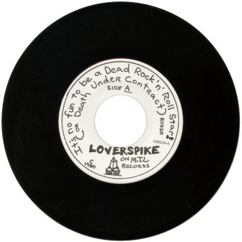 loverspike black vinyl