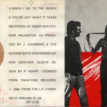 slickee boys back cover