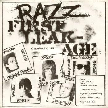 razz back cover