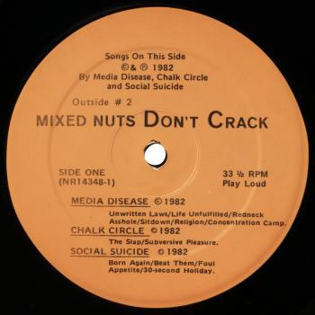 mixed nuts black vinyl