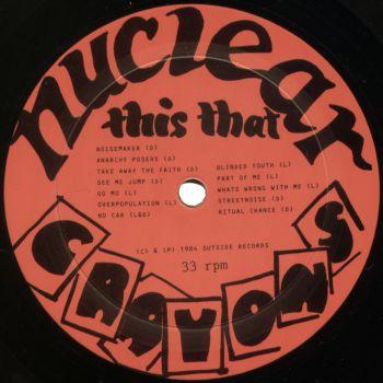 nuclear crayons black vinyl