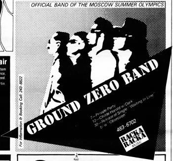 ground zero band ad