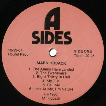 mark hoback black vinyl