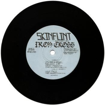 iron cross vinyl