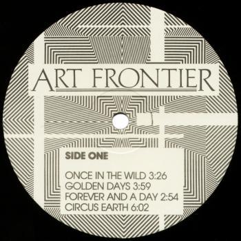 art frontier black vinyl