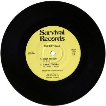 raticals vinyl