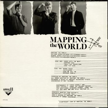 mapping the world back cover