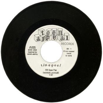 tina peel black vinyl