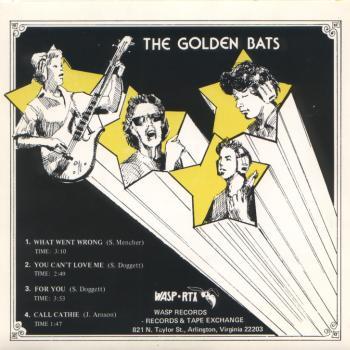 golden bats back cover