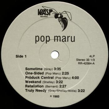 pop maru vinyl