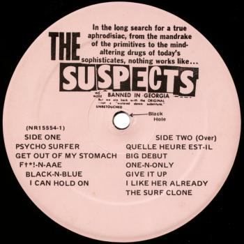 suspects vinyl