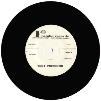 black market baby test pressing vinyl