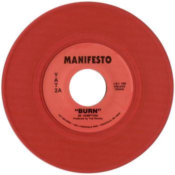 manifesto red vinyl