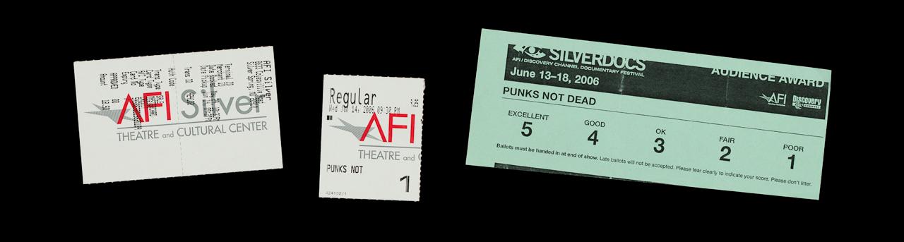 punks not dead tickets