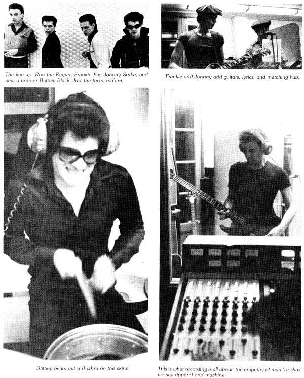 crime in the studio