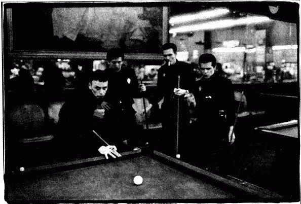 crime playing pool