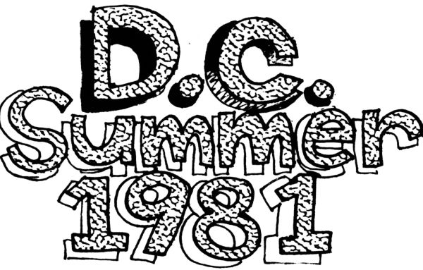 DC summer of 81