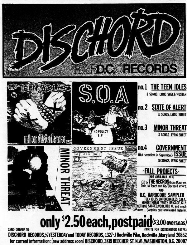 dischord ad
