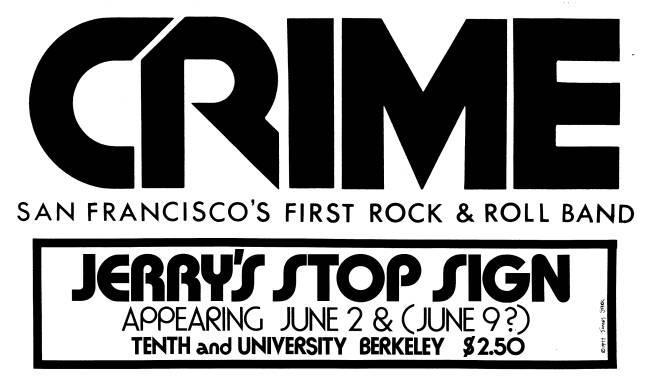 crime flyer