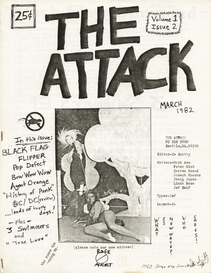 attack fanzine number 2 cover